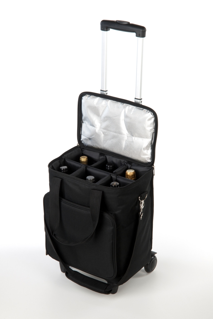 6 Bottle Wine Trolley Bag