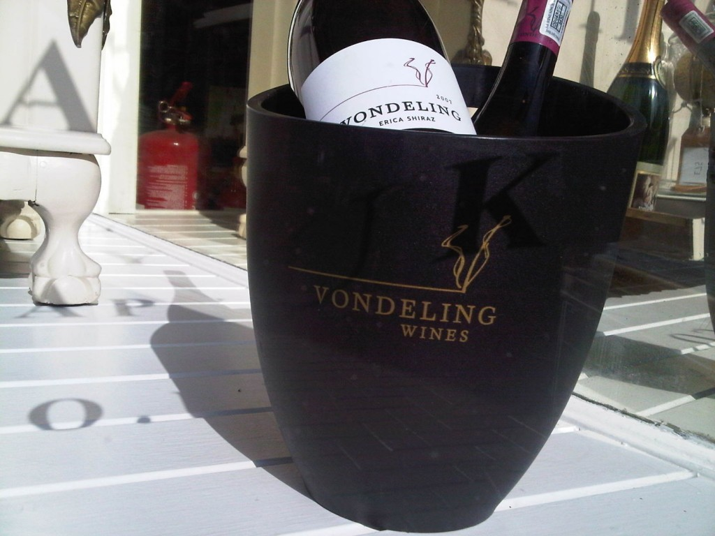 Printed Ice Bucket Vonderling Wines